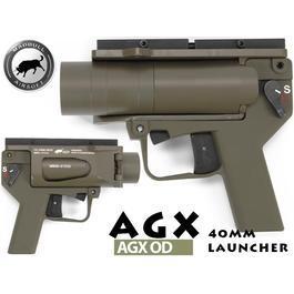 Madbull - Madbull AGX 40mm Pistolen-Launcher oliv