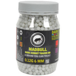 Madbull Dark Knight Tracer BBs 0,12g 2000er Flasche Clear Blue