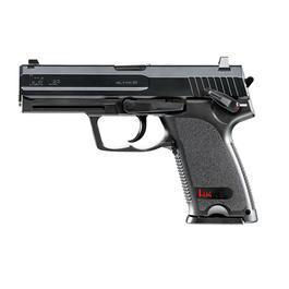 Softair-Waffe - Heckler & Koch USP m. Metallschlitten CO2 NBB