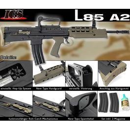Softairwaffe - ICS L85 A2 S-AEG