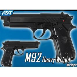 ASG M92 Heavy Weight Springer schwarz