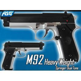 Airsoft - ASG M92 Heavy Weight Springer Dual Tone