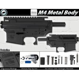 Airsoft-Waffe - MadBull M4 Metallbody Daniel Defense (inkl. Ultimate Hop-Up Unit)
