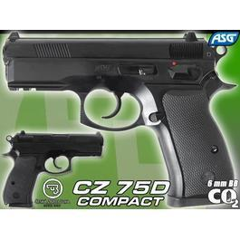ASG CZ 75D Compact 6mm BB CO2 NBB