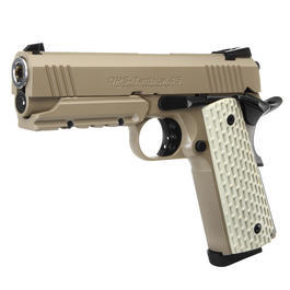 Armee Shop - Tokyo Marui Desert Warrior 4.3 Gas-Blow-Back 6mm BB Desert Tan
