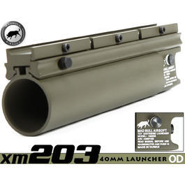 Gotcha - MadBull XM203 40mm Granatwerfer lang oliv