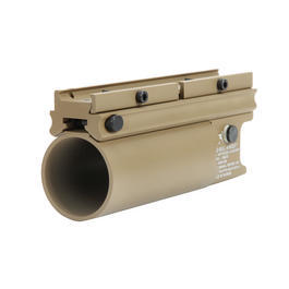 Gotcha Paintball - MadBull XM203 40mm Granatwerfer kurz TAN