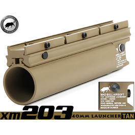 Paintball-Shop - MadBull XM203 40mm Granatwerfer lang TAN