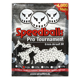 Speedballs Pro Tournament BBs 0,23g 4.000er Beutel