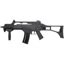 G36C Softair - S&T Heckler & Koch G36C Blowback Softair S-AEG 6mm BB schwarz