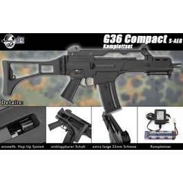 G36C Softair - Jing Gong Mod. 36C Softair Komplettset S-AEG