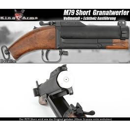 King Arms M79 Short 40mm Granatwerfer Vollmetall