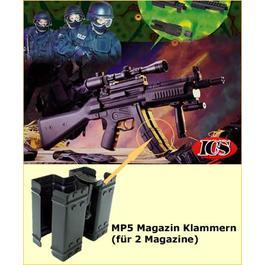 Magazinklammern f�r 2 Magazine MP5