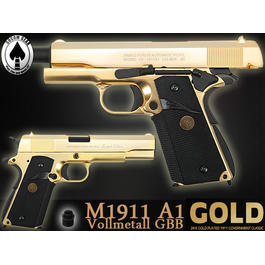 Socom Gear M1911A1 24K Gold-Plated GBB - Limited Edition