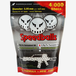 100% Speedballs Pro Tournament BBs 0,28g 4.000er Beutel