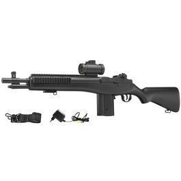 Softair ab 14 - ASG M14 Socom Komplettset AEG 6mm BB schwarz