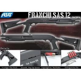 BB Gun - ASG Franchi SAS 12 Tactical Springer schwarz