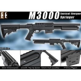 D.E. M3000 Tactical Shotgun Springer!