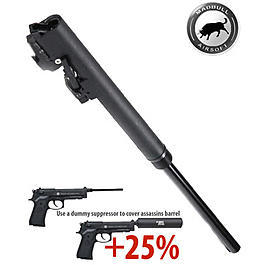MadBull Assassin 235mm Laufset f. Socom Gear M9 / M9A1