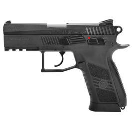 ASG CZ 75 P-07 Duty m. Metallschlitten CO2 Blowback 6mm BB Versandr�ckl�ufer