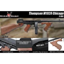King Arms Thompson Chicago Softair S-AEG