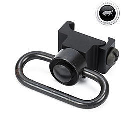 MadBull Tragegurt Adapter QD Swivel f. 20 - 22mm Schienen schwarz