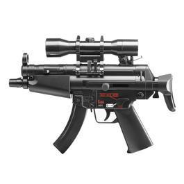 Sportwaffen - Umarex Mini HK MP5 Kidz Dualpower AEG Springer 6mm BB schwarz