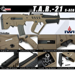 Ares Tavor TAR-21 S-AEG Tan 6mm BB