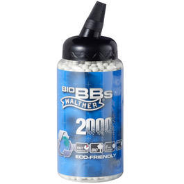 Walther Eco-Friendly Bio BBs 0.25g 2000er Speedloader weiß