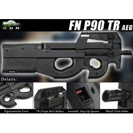 Classic Army Sportline - Cybergun FN P90 TR Softair AEG 6mm BB schwarz