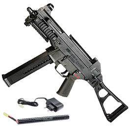S&T Heckler & Koch UMP Komplettset S-AEG 6mm BB schwarz