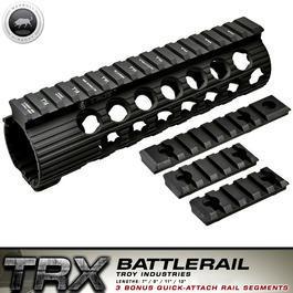 Softair ab 18 - MadBull / Troy M4 TRX Extreme Battlerail 7 Zoll schwarz