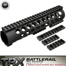 freie Waffen - MadBull / Troy M4 TRX Extreme Battlerail 9 Zoll schwarz
