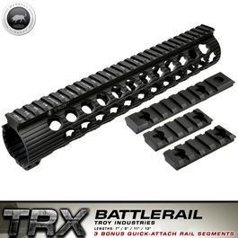freie Waffen - MadBull / Troy M16 TRX Extreme Battlerail 11 Zoll schwarz