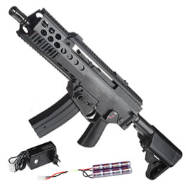 Echo1 MCT1 Carbine Softair Komplettset S-AEG 6mm BB schwarz