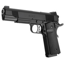 Socom Gear Les Bear 1911 Ultimate Recon 5 Vollmetall GBB inkl. Golfball Grip 6mm BB schwarz