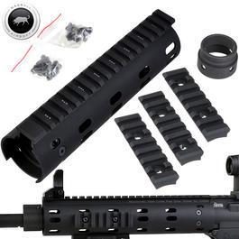 Madbull - MadBull / Daniel Defense M4 Aluminium CNC MFR RAS-System 7 Zoll schwarz