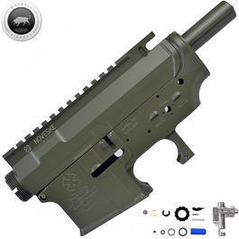 Classic Army - MadBull M4 Metallbody Noveske Rifleworks MUR (inkl. Ultimate Hop-Up Unit) oliv
