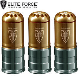 Elite Force 40mm H�lse 120 Schuss 6mm BB (3er Set)