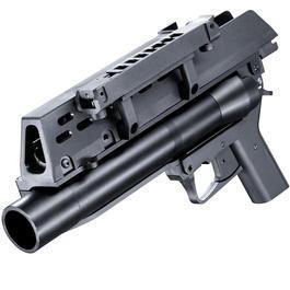 Softair ab 18 - S&T Armament Heckler & Koch AG36 40mm Granatwerfer schwarz