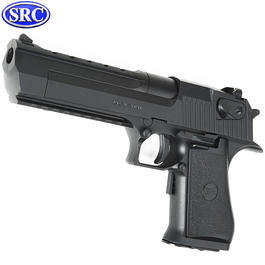 Sportwaffen - SRC Israel Eagle .50AE elektr. Blowback EBB 6mm BB schwarz