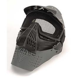 Farbkugeln - Softair Schutzmaske, komplett, schwarz