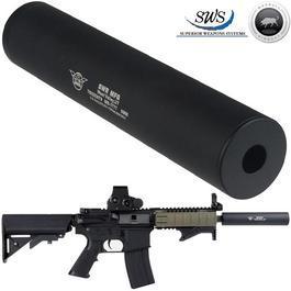 Madbull - MadBull / SWS Trident9 6 3/4 Zoll Silencer 14mm- schwarz