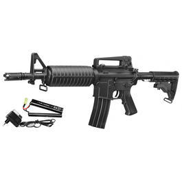 Softair Verkauf - DBoys M4 CQB Komplettset AEG 6mm BB schwarz