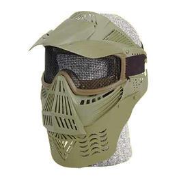 Farbkugeln - Softair Schutzmaske, komplett, oliv
