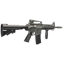 DBoys M4A1 RIS Softair Komplettset AEG 6mm BB grau / schwarz