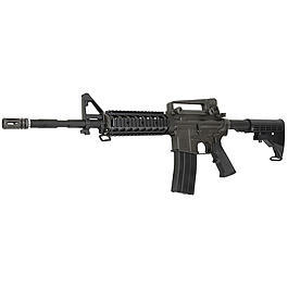 King Arms Colt M4A1 RIS Vollmetall Gas-Blow-Back 6mm BB schwarz