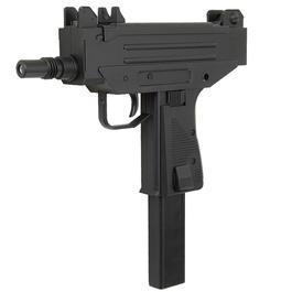 Umarex Waffen - IWI UZI Pistol SMG Softair AEG Komplettset 6mm BB schwarz