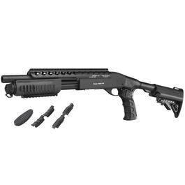 G&P M870 RAS Tactical Shorty Shotgun Vollmetall Springer 6mm BB schwarz