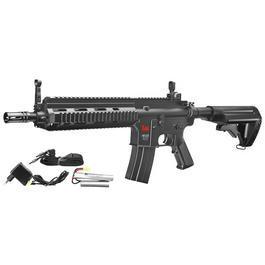 Heckler & Koch HK416C Softair Komplettset AEG 6mm BB schwarz